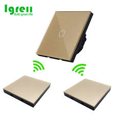 86 type <b>smart</b> touch <b>switch</b> with free stickers <b>wiring free wireless</b> dual ...