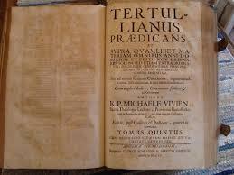 Resultat d'imatges de tertulianus
