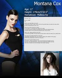 montana cox page models skinny gossip forums week 2