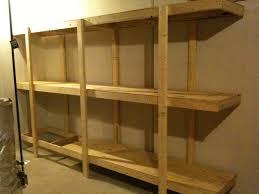 build easy standing shelving unit for basement or garage all