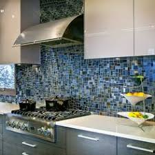 photos glass tile backsplash ideas awesome blue cool blue and grey hued glass mosaic backsplash
