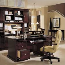 gorgeous classic office design presented with dark brown colored wooden rustic home office desks facing tall back of office chair with wooden frame awesome wood office chairs