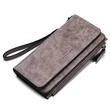 Wallets for Women Soft Oil Wax Leather Ladies ... - Amazon.com