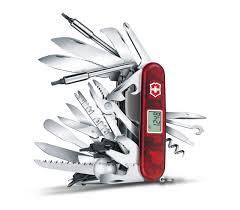 <b>Нож перочинный Victorinox SwissChamp</b> XAVT, 91 мм, 82 ...