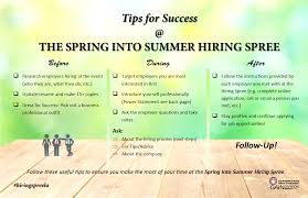spring into summer for a successful hiring spree click the images below to save and print the document then review the tips create your power statement and take them