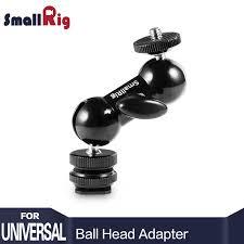 <b>SmallRig</b> Adjustable <b>DSLR Camera</b> Ballhead Mini Ball head Mount ...