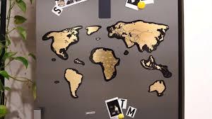 """Магнитная <b>скретч карта мира</b> """"Travel Map Magnetic <b>World</b>"""" от ..."""
