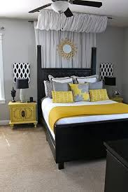 themed kids room designs cool yellow: yellow and black plus grey decor bedroom ideas