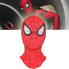 <b>Spider</b>-<b>Man Mask</b> Superhero Cosplay <b>Hood Mask Spiderman</b> ...