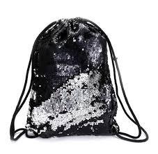 2019 Ladies Travel <b>Sequins Backpack</b> Women <b>Vintage</b> Drawstring ...