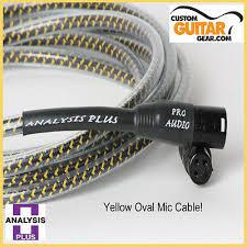 yellow oval mic 4 m