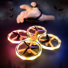 Watch sensor <b>four</b>-<b>axis</b> drone Gesture sensing remote control aircraft