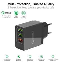 18w <b>quick</b> charge 3 0 <b>5v 3a fast</b> usb charger for iphone 7 samsung ...