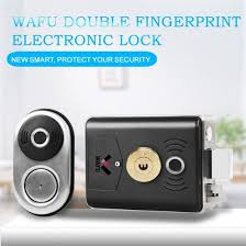 Wafu Tuya WiFi <b>Fingerprint</b> Door <b>Lock Smart</b> Card Digital Code ...