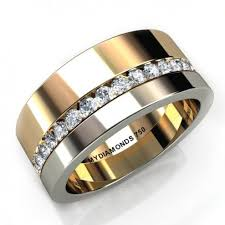 <b>Aramis Men's</b> Diamond Two Tone Ring - 0.40ct | Мужские ...
