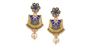 Jewel Pari Boho <b>Vintage Antique Gold</b> Ethnic Gypsy Tribal <b>Indian</b> ...
