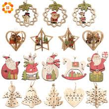 Best value <b>Creative Christmas Wooden</b> Pendants – Great deals on ...