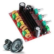 <b>Amplifier Board TPA3116D2 80Wx2</b>+100W 2.1 Channel Digital ...