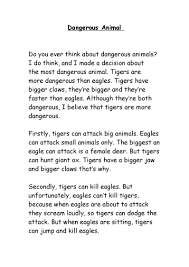 dangerous animal essay pdf flipbook dangerous animal essay