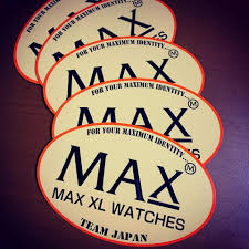 <b>MAX XL WATCHES</b> | JPN - 2020 MAX official sticker for our ...