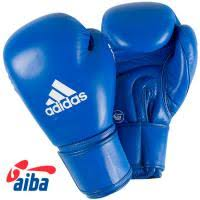 Боксерские <b>перчатки Adidas</b> AIBAG1 синие купить с доставкой в ...