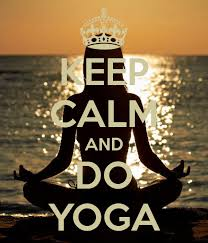 Image result for keep calm and do yoga