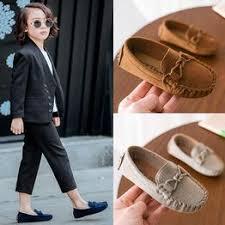 <b>Children</b> Boys <b>Girls</b> Loafers <b>Solid</b> Color Soft Bottom <b>Breathable</b> ...