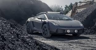 На продажу выставили внедорожный Lamborghini Gallardo ...
