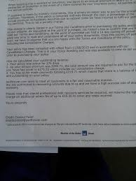 getoutofdebt org regal credit here is the reply from second letter notice they are calling it a complaint and also there is now a to write to and they have said they send what i