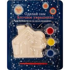 <b>Набор для детского творчества</b> «Снеговик с домиком» в Москве ...