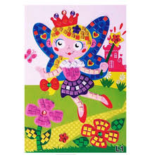<b>Color</b> Random 1 PC Large <b>Eva Mosaic</b> Art Sticker Children Early ...