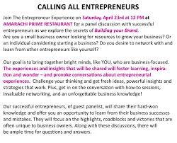 the entrepreneur experience built purpose building your brand the entrepreneur experience built purpose building your brand