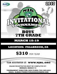 2017 boys 7 invitational scripps ranch national junior basketball flyer