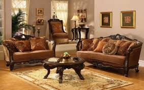ideas brilliant traditional living room decorating ideas with serta upholstery fabric for classic sofa furniture alongside antique furniture decorating ideas