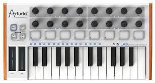<b>MIDI</b>-<b>клавиатура Arturia MiniLab</b> — купить по выгодной цене на ...