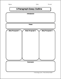 graphic organizers graphics and main idea on pinterest brainstorming form for the  paragraph essay use this page to begin shaping the thesis