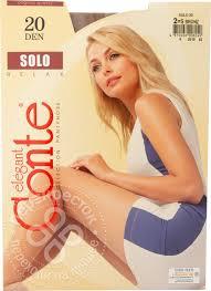 Купить <b>Колготки</b> Conte Elegant Solo bronze <b>20den р5</b> с доставкой ...