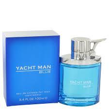 <b>Myrurgia Yacht Man</b> Blue Eau De Toilette Spray for Men 3.4 oz ...