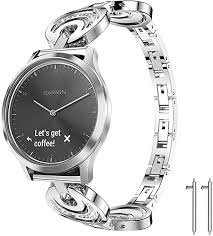 Lamshaw Quick Release <b>Smartwatch Band for Garmin</b> Vivomove ...