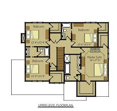 Two story four bedroom House Plan   garageFloor Plans