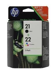 Набор <b>струйных картриджей</b> 21+22 121 Black/Tri-Colour (<b>SD367AE</b>)