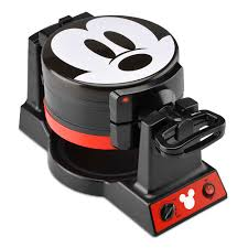<b>Mickey Mouse</b> 90th Anniversary <b>Double</b> Flip Waffle Maker ...