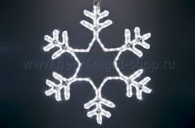 Neon-night <b>Фигура</b> световая <b>Снежинка</b>, 55х55 см 501-334