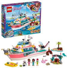 Купить конструктор <b>Lego Friends</b>: <b>Катер для</b> спасательных ...