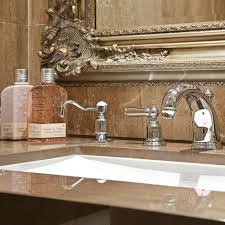 perrin rowe lifestyle:  perrin amp rowe  soap dispenser in nickel  traditional deck mounted soap dispenser