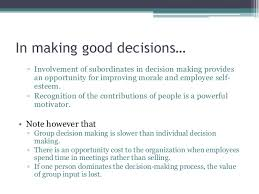 problem solving amp decision making at the workplace  information  in making good decisions