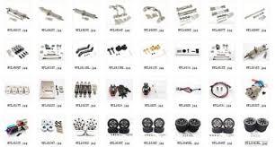 Aluminum metal <b>Upgrade DIY</b> parts For WPL C14 C24 Off-road 1:16 ...