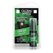 Спрей для полости рта `<b>GLOBAL WHITE</b>` Fresh 15 мл купить в ...