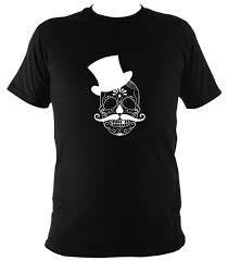 <b>Skull in Top Hat</b> T-shirt – Mudchutney