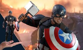 Marvel <b>Captain America</b> Sixth Scale <b>Figure</b> by Hot Toys | Sideshow ...